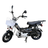 49cc/50cc gasoline moped with padels (Smart Moped)