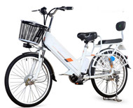 350w lithium battery electric bicycle moped (L-moped)
