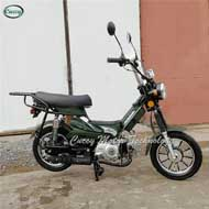 49cc/50cc gasoline moped with padels (Smart Moped) - 副本